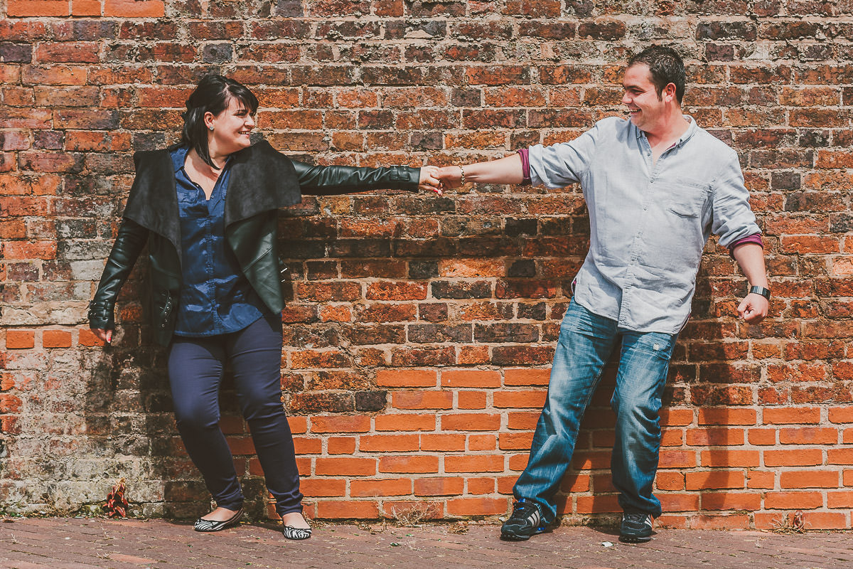 003 - Brindley Place Pre-Wedding Shoot - Michelle and Ryan