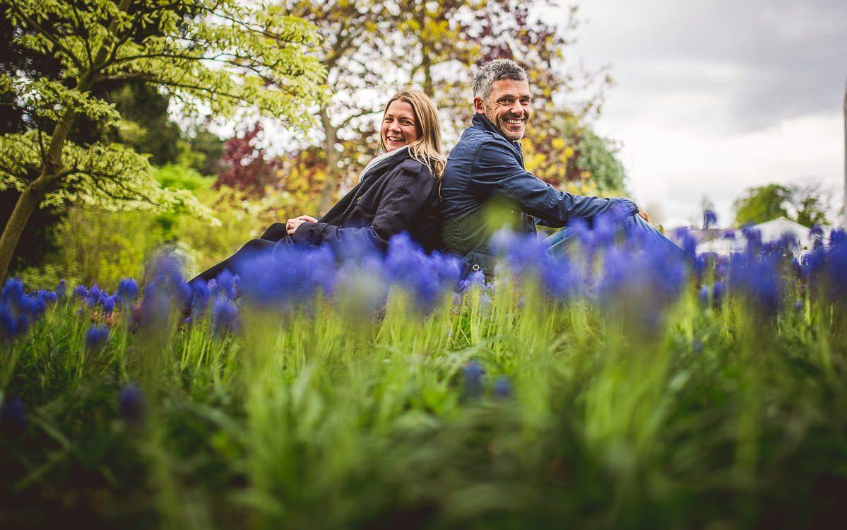 Anna and Ben - Pre-Wedding Photoshoot at Birmingham Botanical Gardens