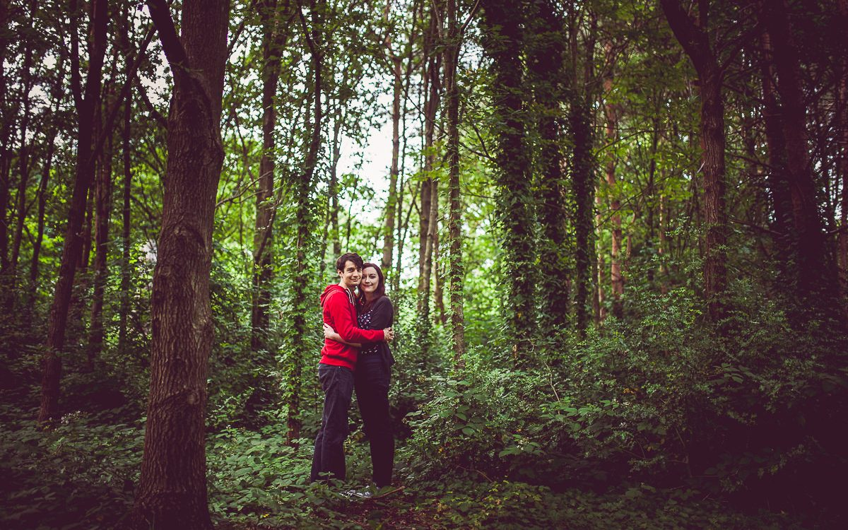 Harborne Pre-Wedding Photoshoot - Emma and Richard