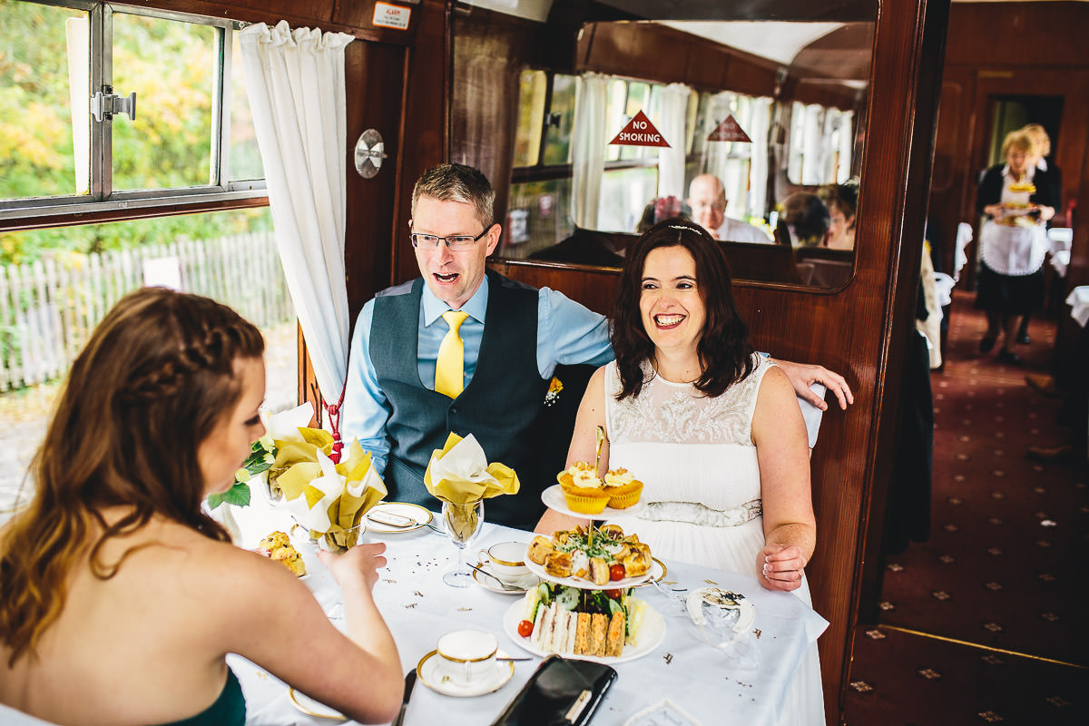 052 - Churnet Valley Railway Wedding - Marti and Chris