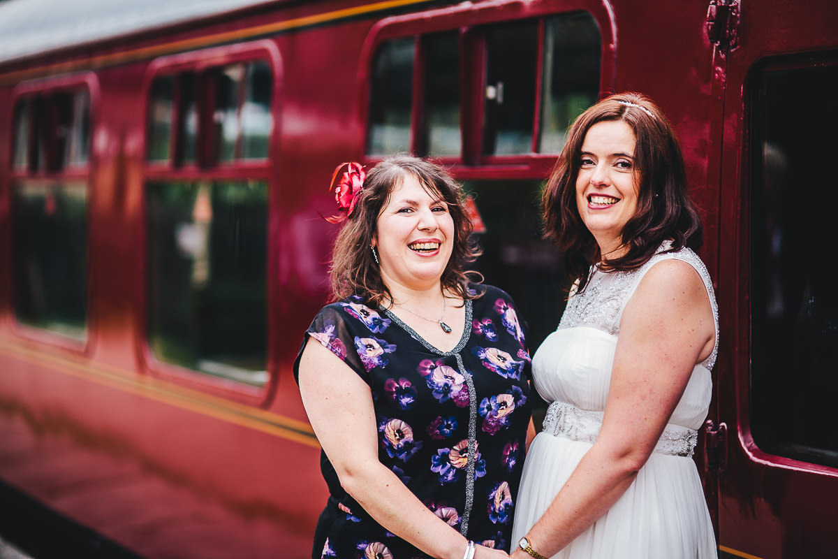 059 - Churnet Valley Railway Wedding - Marti and Chris