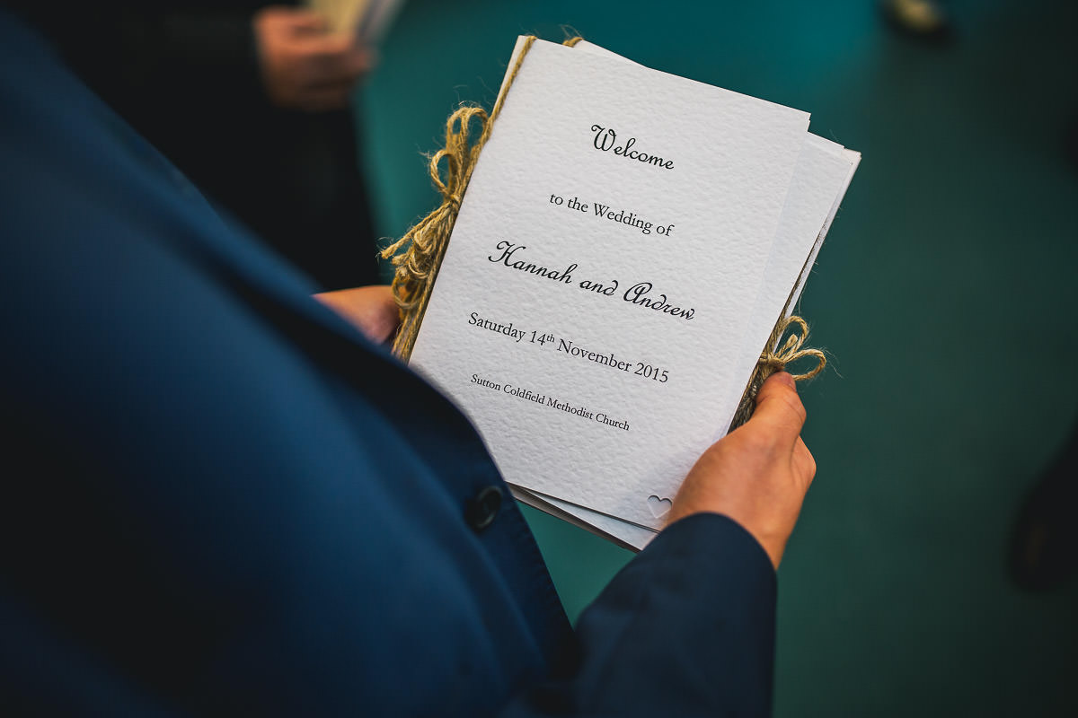 015 - Shustoke Barns Wedding Photographer - Hannah and Andrew