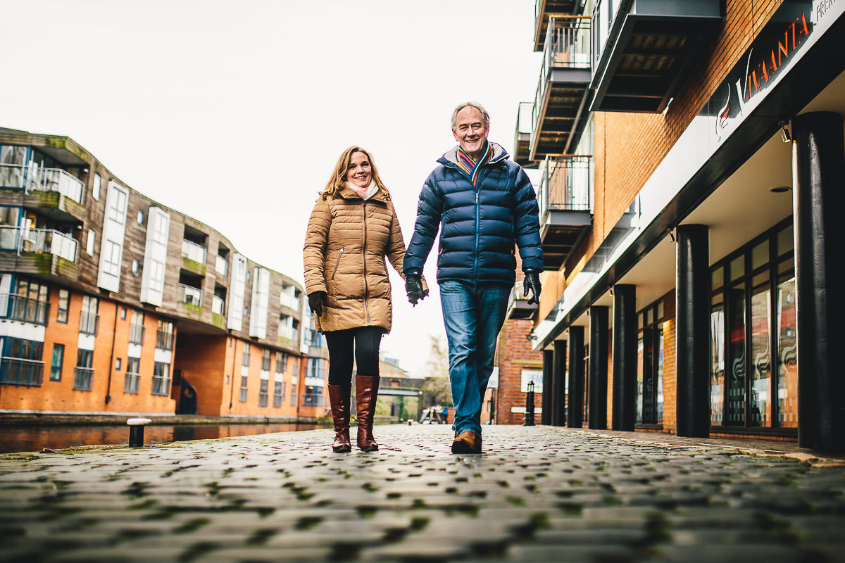 008 - Brindley Place Photoshoot - Caroline and Mike