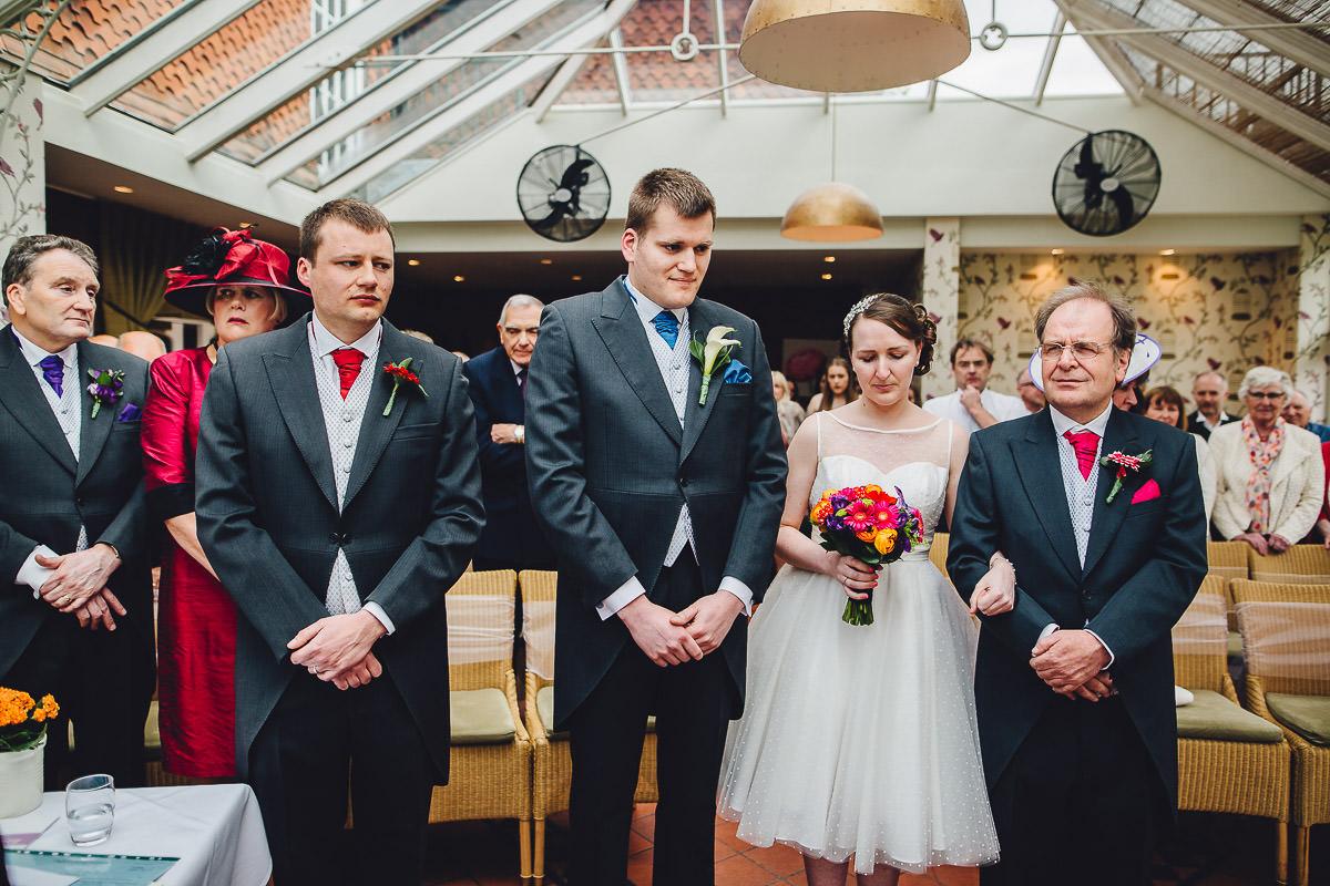 014 - Redcoats Farmhouse Hotel Wedding - Emma and Ross