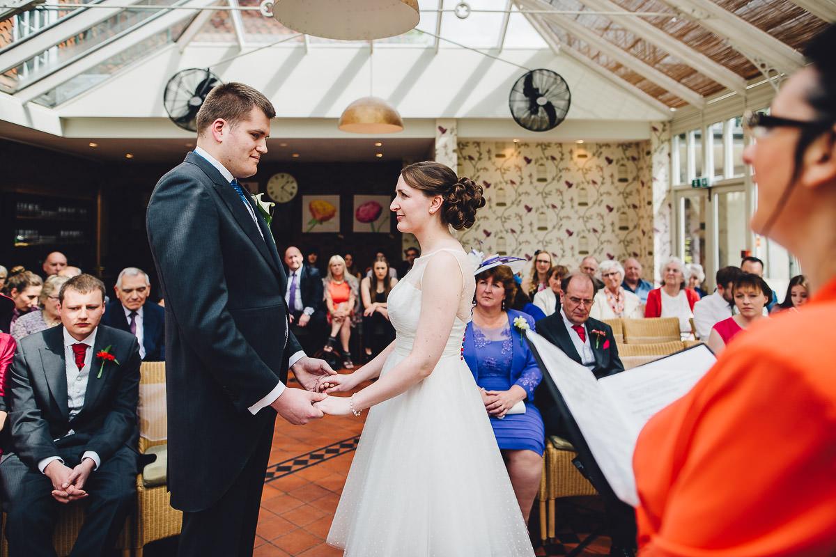 017 - Redcoats Farmhouse Hotel Wedding - Emma and Ross