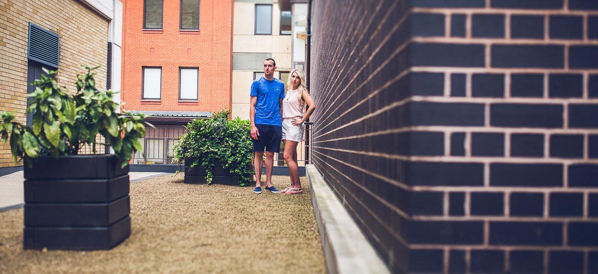 002 - Birmingham Urban Photoshoot - Emma and Matt