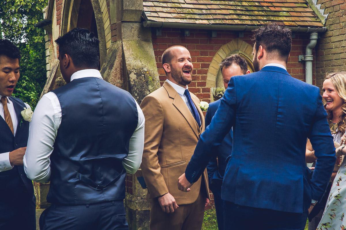 021 - Highbury Hall Wedding Photographer - Tiwo and Daniel