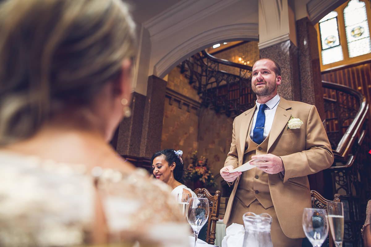 058 - Highbury Hall Wedding Photographer - Tiwo and Daniel