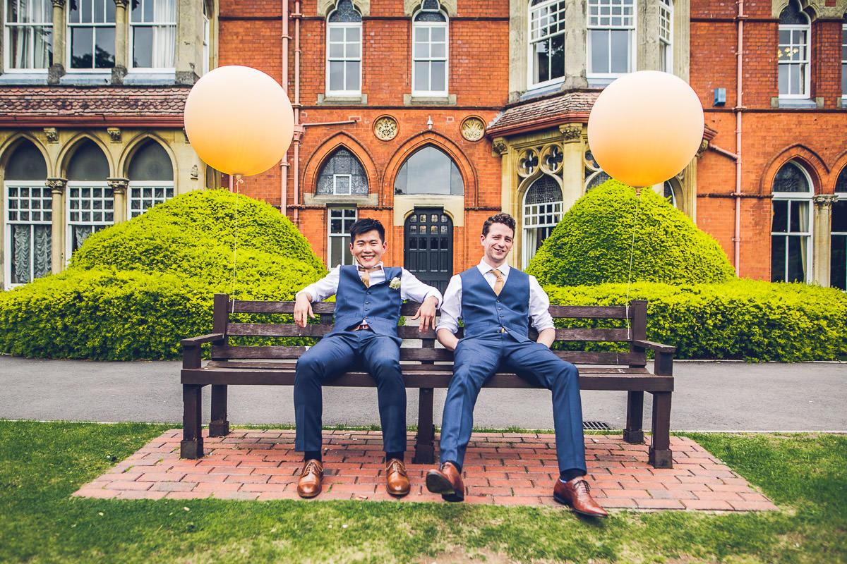 062 - Highbury Hall Wedding Photographer - Tiwo and Daniel