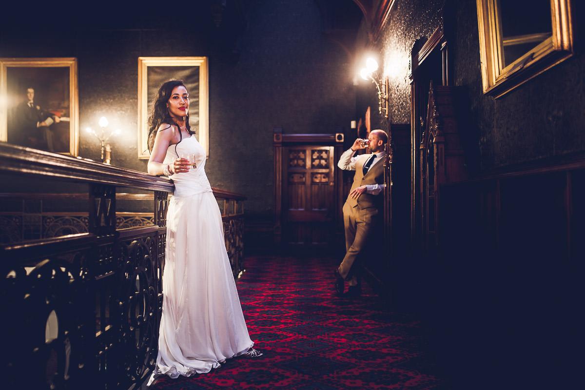 Highbury Hall Wedding Photographer - Tiwo and Daniel