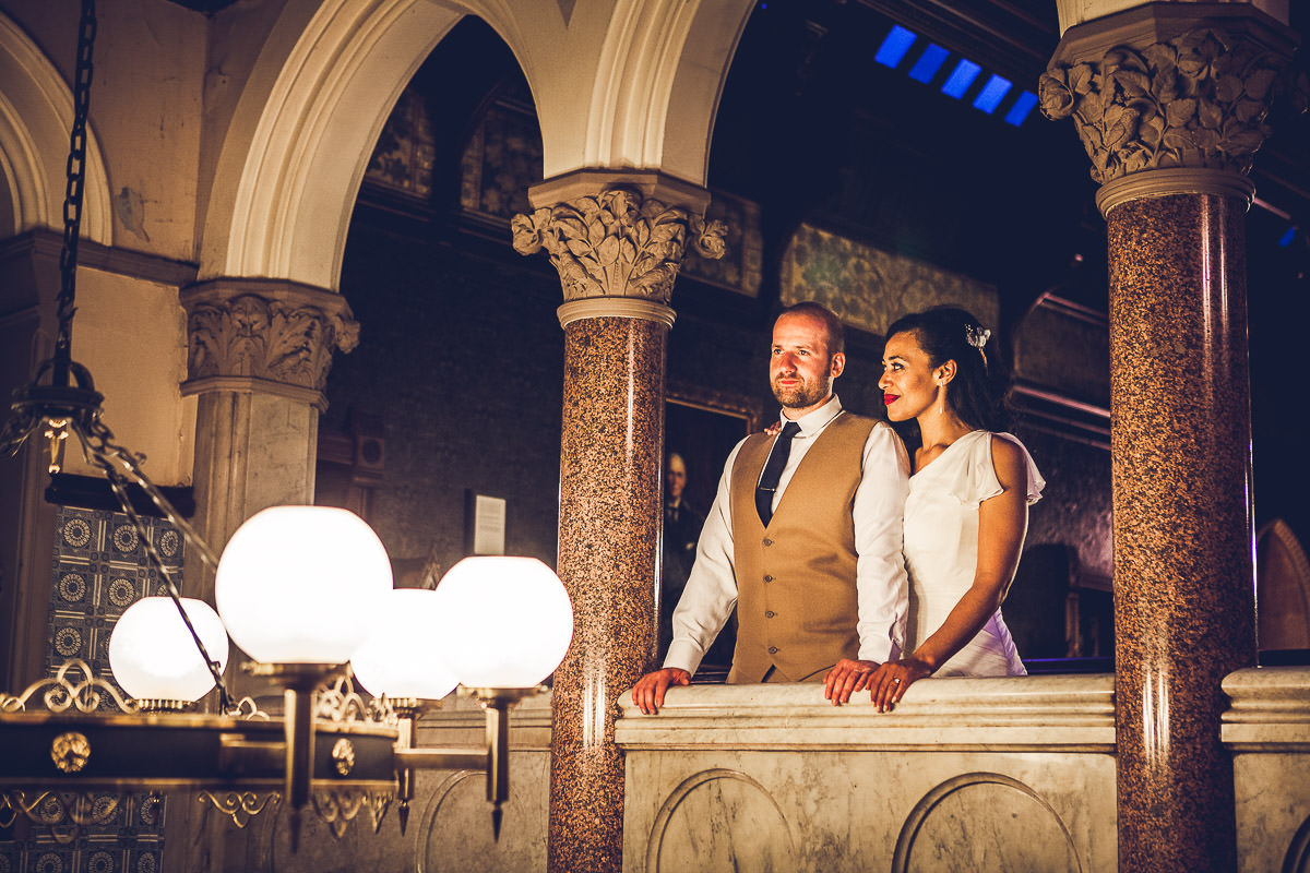 081 - Highbury Hall Wedding Photographer - Tiwo and Daniel