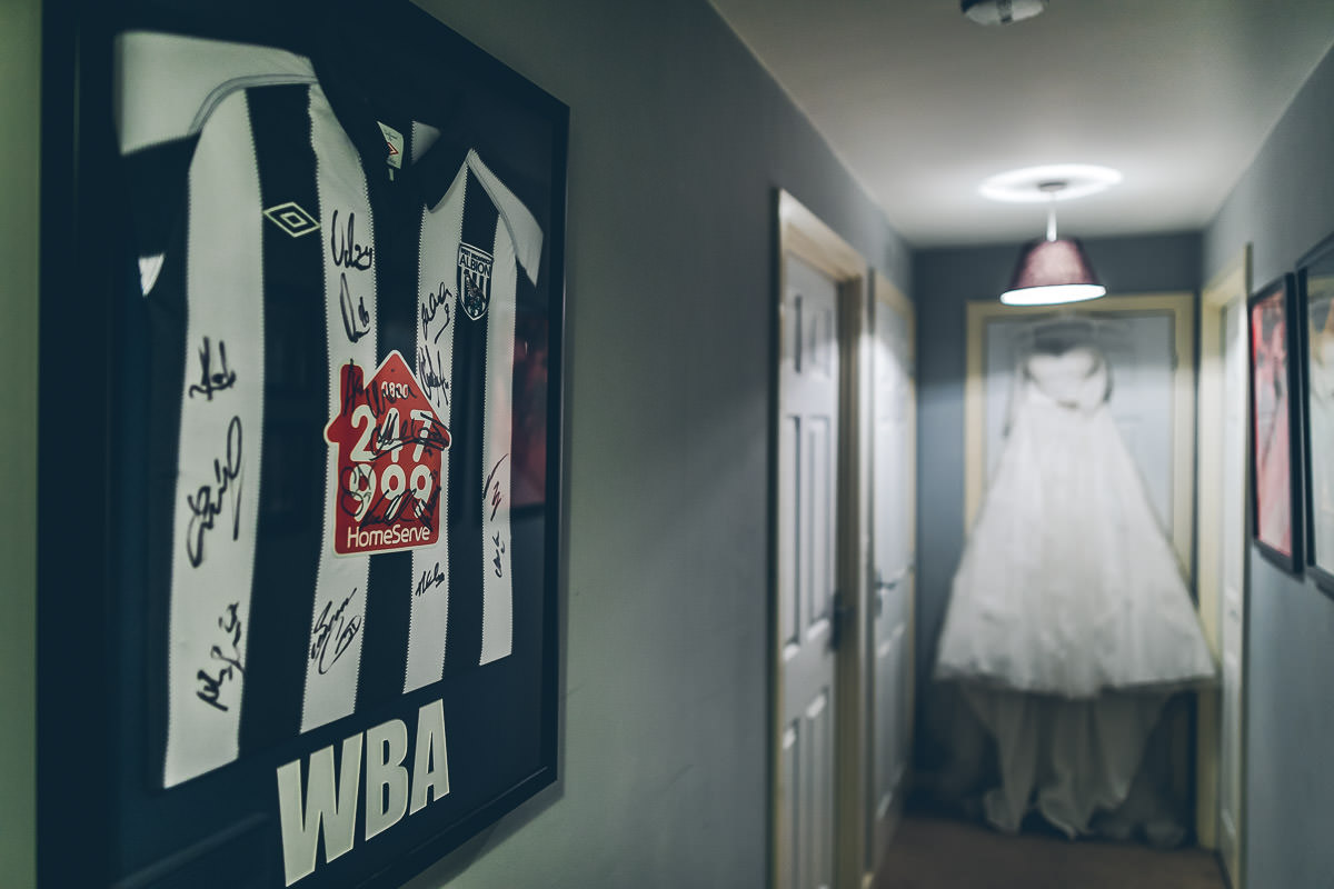 West Bromwich Albion Themed wedding