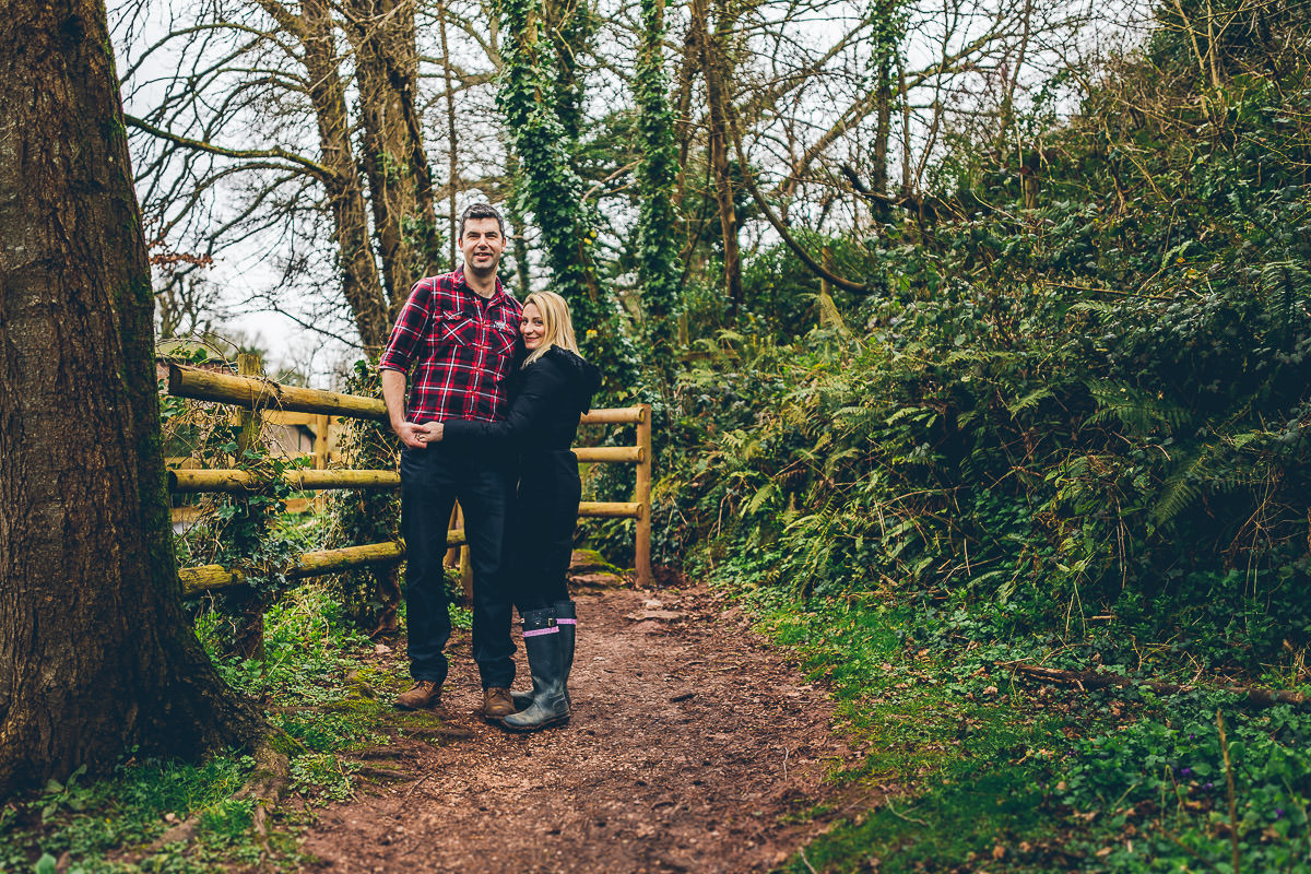 Cockington engagement photoshoot